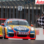 Dylan Thomas and Nick McBride win opening Porsche Carrera Cup Pro-Am race - Photo: Dirk Klynsmith
