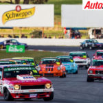 John Bowe takes the win in Touring Car Masters Trophy Race - Photo: Dirk Klynsmith