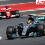 Hamilton leads Vettel during Spanish F1 Grand Prix - Photo: LAT