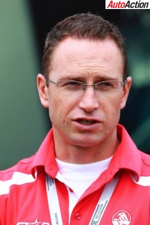 Simon McNamara during his time in charge of Holden Motorsport
