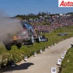 Ogier flying through WRC Portugal - Photo: LAT
