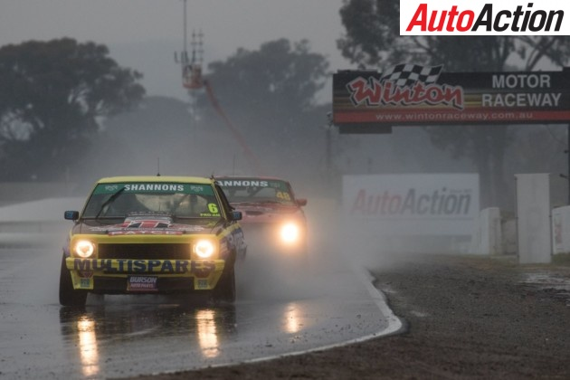 Ryan Hansford fastest in the wet during Touring Cars Masters - Photo: Rhys Vandersyde