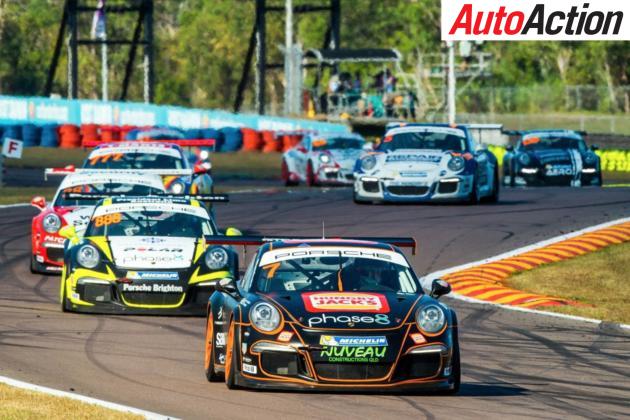 Jaxon Evans clean swept the Porsche Carrera Cup round in Darwin - Photo: Dirk Klynsmith