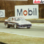 Moffat racing a Holden Commodore at Monza WTCC 87