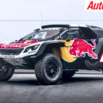 Peugeot's 2018 Dakar Challenger the Peugeot 3008DKR Maxi - Photo: Supplied