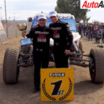 Shannon and Ian Rentsch win the Finke Desert Race - Photo: Supplied