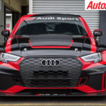 Audi RS3 LMS TCR Car on display at Phillip Island - Photo: Rhys Vandersyde
