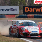 David Wall fastest during Porsche Carrera Cup practice - Photo: Rhys Vandersyde