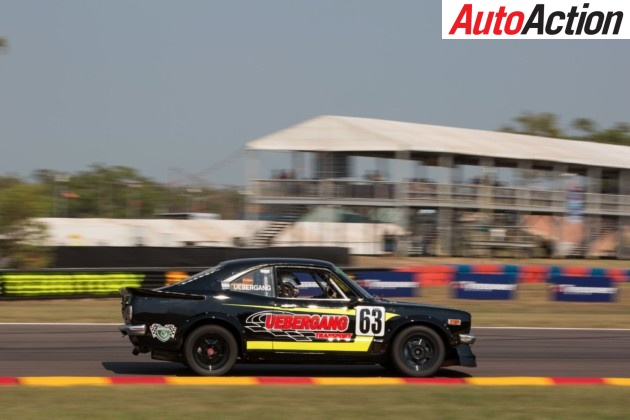Adam Uebergang qualified on pole for the Combined Sedans races - Photo: Rhys Vandersyde