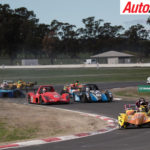 Action packed start for Australian Prototype Series last year at Winton - Photo: Rhys Vandersyde