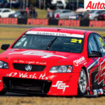 Jack Smith set the pace in the V8 Touring Cars at Queensland Raceway - Photo: Dirk Klynsmith