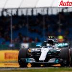 Valtteri Bottas fastest in practice for the British Grand Prix - Photo: LAT