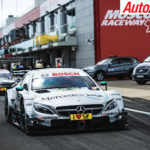 Mercedes-AMG at the last DTM round in Moscow - Photo: LAT
