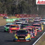 Chaz Mostert leading from the start in Queensland - Photo: Rhys Vandersyde