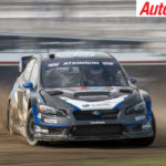 Strong showing for Chris Atkinson at the Global Rallycross in Atlantic City