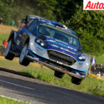 Ott Tanak on his way to winning WRC Germany - Photo: LAT