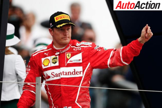 Kimi Raikkonen to continue with Ferrari - Photo: LAT