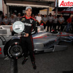 Will Power celebrates 50th pole position - Photo: LAT