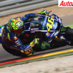 Front row start for Valentino Rossi at Aragon MotoGP race - Photo: LAT