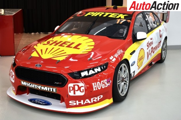 Shell V-Power Racing Team have incorporated the 1967 version of the Shell pecten - Photo: Supplied