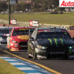 Richie Stanaway and Cam Waters will start the Sandown 500 from pole - Photo: Rhys Vandersyde