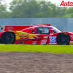 James Winslow's Lightning McQueen Craft Bamboo LMP3 car - Photo: Supplied