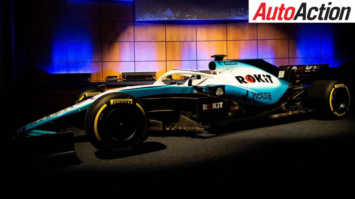 NEW TITLE PARTNER FOR WILLIAMS F1