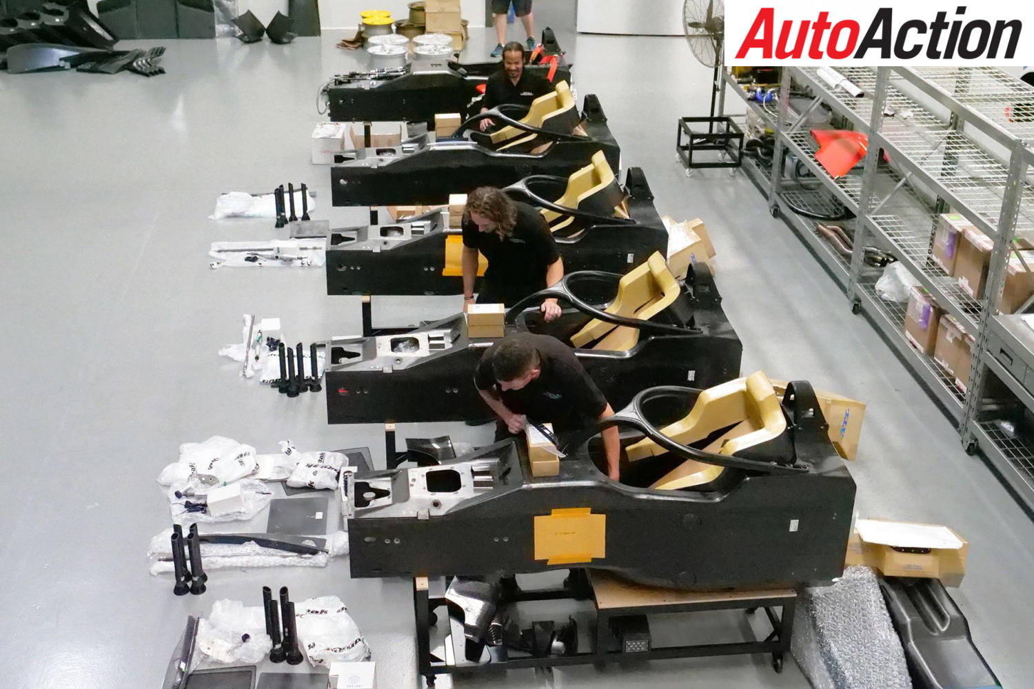 AUSSIE S5000 PRODUCTION RAMPS UP
